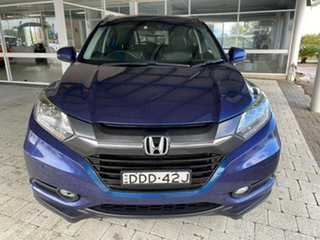 2016 Honda HR-V VTi-L Morpho Blue Constant Variable Hatchback.