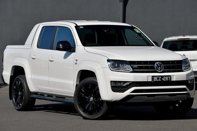 Demo Volkswagen Amarok 2H MY20 TDI580SE 4MOTION Perm Moorabbin, 2020 Volkswagen Amarok 2H MY20 TDI580SE 4MOTION Perm White 8 Speed Automatic Utility