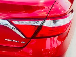 2015 Toyota Camry ASV50R Atara S Red 6 Speed Sports Automatic Sedan