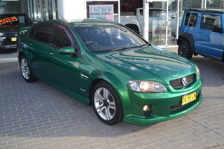 2010 Holden Commodore VE MY10 SS Green 6 Speed Sports Automatic Sedan.