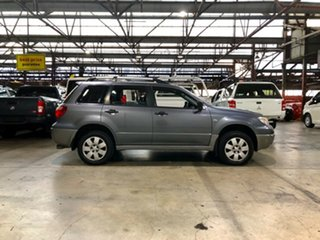 2004 Mitsubishi Outlander ZE LS Grey 4 Speed Sports Automatic Wagon