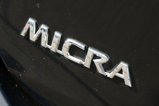 2014 Nissan Micra K13 MY13 ST-L Black 5 Speed Manual Hatchback