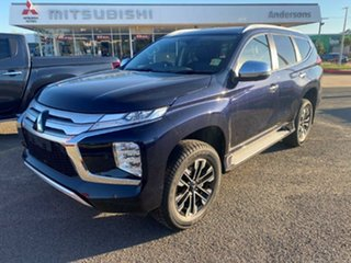 2021 Mitsubishi Pajero Sport QF MY21 Exceed Dark Blue 8 Speed Sports Automatic Wagon