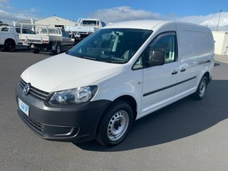 2010 Volkswagen Caddy 2K MY11 TDI250 Wagon Life SWB White 5 Speed Manual Wagon