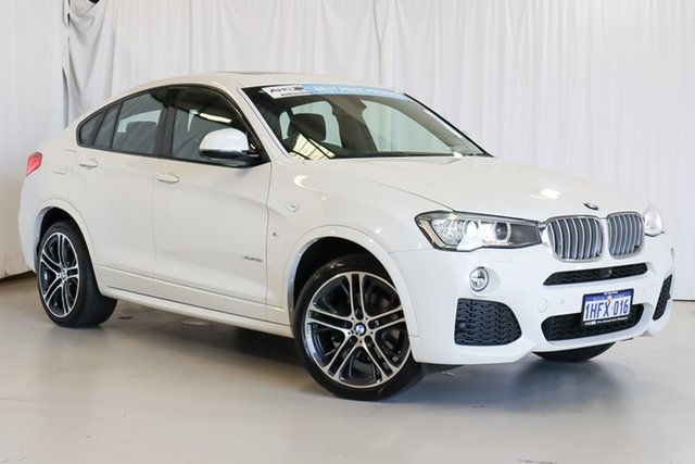 Used BMW X4 F26 xDrive35i Coupe Steptronic Wangara, 2016 BMW X4 F26 xDrive35i Coupe Steptronic White 8 Speed Automatic Wagon