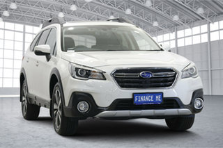 2018 Subaru Outback B6A MY18 2.5i CVT AWD Premium Pearl White 7 Speed Constant Variable Wagon.