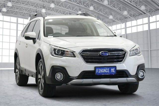 Used Subaru Outback B6A MY18 2.5i CVT AWD Premium Victoria Park, 2018 Subaru Outback B6A MY18 2.5i CVT AWD Premium Pearl White 7 Speed Constant Variable Wagon
