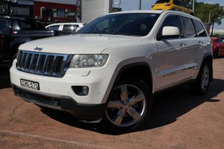 2011 Jeep Grand Cherokee WK Limited (4x4) White 5 Speed Automatic Wagon.