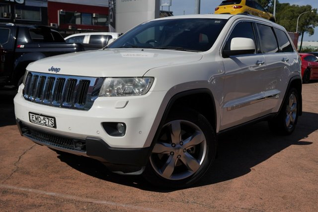 Used Jeep Grand Cherokee WK Limited (4x4) Brookvale, 2011 Jeep Grand Cherokee WK Limited (4x4) White 5 Speed Automatic Wagon