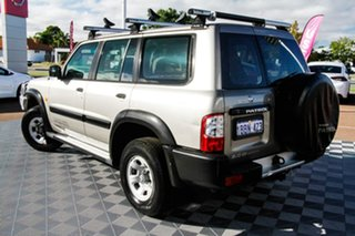 2001 Nissan Patrol GU II ST Gold 4 Speed Automatic Wagon.