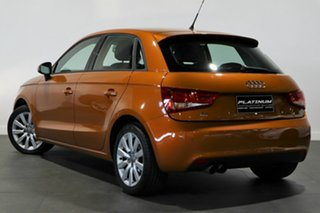 2013 Audi A1 8X MY14 Ambition Sportback S Tronic Orange 7 Speed Sports Automatic Dual Clutch