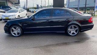 2006 Mercedes-Benz E-Class W211 MY07 E63 AMG Black 7 Speed Sports Automatic Sedan