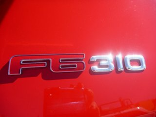 2009 Ford Performance Vehicles F6 FG Red 6 Speed Sports Automatic Sedan.