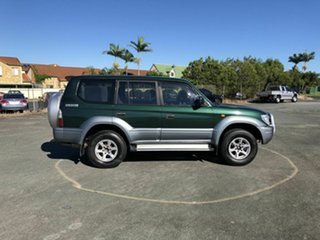 2000 Toyota Landcruiser Prado VZJ95R GXL Green 4 Speed Automatic Wagon