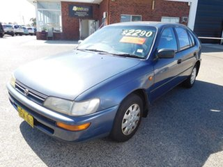 1995 Toyota Corolla AE101R CSX Seca Blue 4 Speed Automatic Liftback.