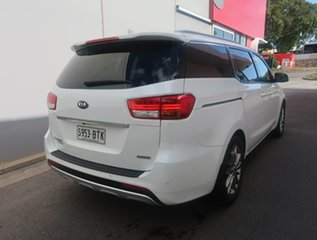 2017 Kia Carnival YP MY18 Platinum White 6 Speed Sports Automatic Wagon