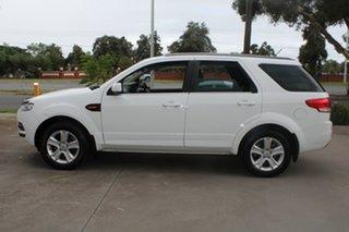 2013 Ford Territory SZ TX (RWD) White 6 Speed Automatic Wagon