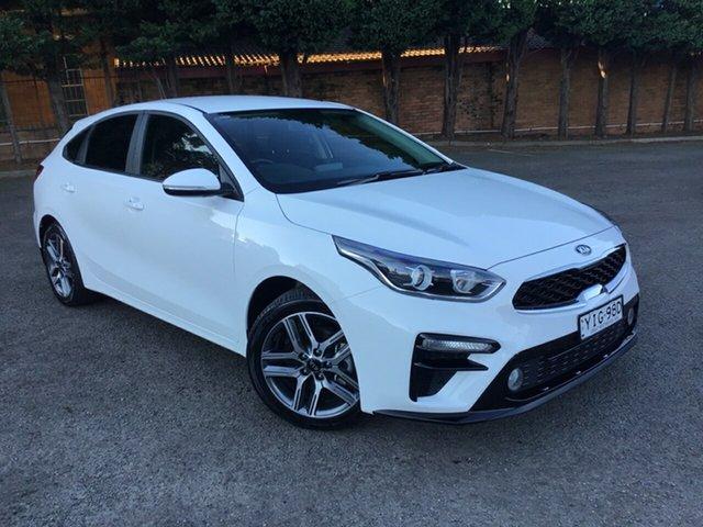 Used Kia Cerato BD MY19 S Hornsby, 2019 Kia Cerato BD MY19 S White 6 Speed Manual Hatchback