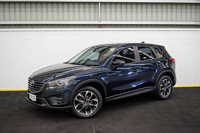 Used Mazda CX-5 KE1022 Grand Touring SKYACTIV-Drive AWD Canning Vale, 2016 Mazda CX-5 KE1022 Grand Touring SKYACTIV-Drive AWD Blue 6 Speed Sports Automatic Wagon