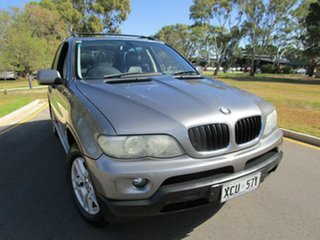 2004 BMW X5 E53 3.0I Grey 5 Speed Auto Steptronic Wagon.