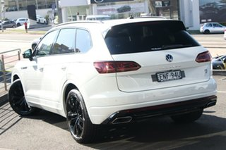 2021 Volkswagen Touareg CR MY21 210TDI Tiptronic 4MOTION Wolfsburg Edition Pure White 8 Speed.