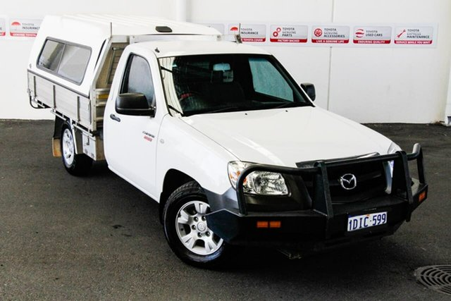 Pre-Owned Mazda BT-50 09 Upgrade Boss B2500 DX Myaree, 2010 Mazda BT-50 09 Upgrade Boss B2500 DX White 5 Speed Manual Cab Chassis