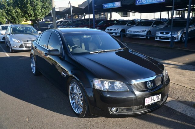Used Holden Commodore VE MY09.5 International Toowoomba, 2009 Holden Commodore VE MY09.5 International Black 4 Speed Automatic Sedan