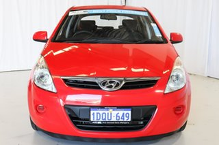 2011 Hyundai i20 PB MY12 Active Red 4 Speed Automatic Hatchback