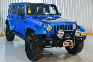 2015 Jeep Wrangler JK MY2015 Unlimited Overland Blue 5 Speed Automatic Hardtop