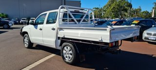 2012 Volkswagen Amarok 2H MY12 TDI400 4Mot White 6 Speed Manual Cab Chassis