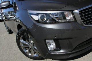 2017 Kia Carnival YP MY17 SLi Graphite 6 Speed Sports Automatic Wagon.