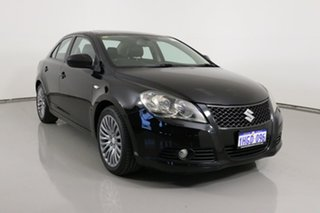 2011 Suzuki Kizashi FR XLS Black Continuous Variable Sedan.
