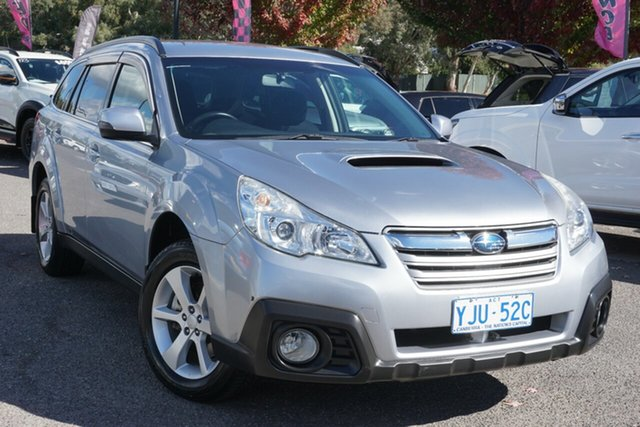 Used Subaru Outback B5A MY13 2.0D Lineartronic AWD Phillip, 2013 Subaru Outback B5A MY13 2.0D Lineartronic AWD Silver 7 Speed Constant Variable Wagon