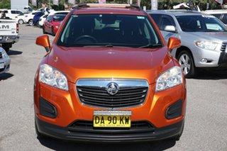 2015 Holden Trax TJ MY15 LS Orange 6 Speed Automatic Wagon.