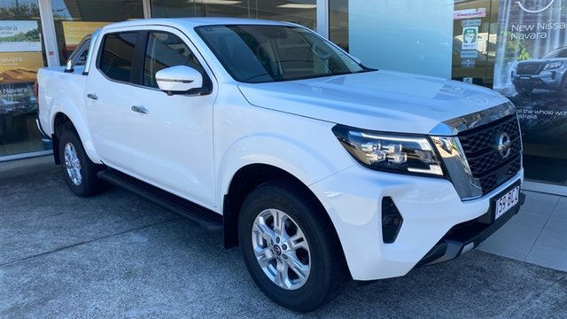 Demo Nissan Navara D23 MY21 ST 4x2 Moorooka, 2020 Nissan Navara D23 MY21 ST 4x2 Solid White 7 Speed Sports Automatic Utility