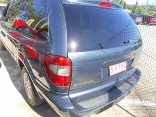 2007 Chrysler Grand Voyager RG 4th Gen MY07 LX Signature Blue 4 Speed Automatic Wagon