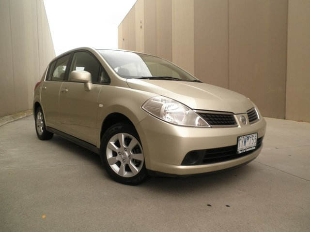 Used Nissan Tiida C11 ST-L Cheltenham, 2006 Nissan Tiida C11 ST-L Moonstone 6 Speed Manual Hatchback
