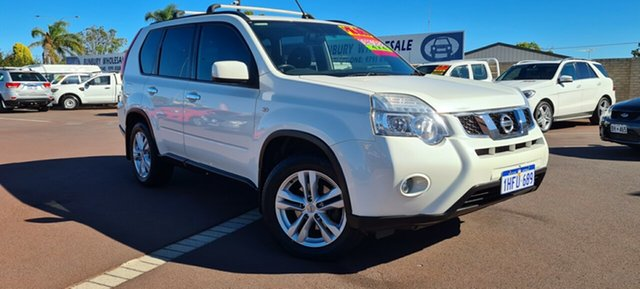 Used Nissan X-Trail T31 Series IV TS East Bunbury, 2012 Nissan X-Trail T31 Series IV TS White 6 Speed Manual Wagon