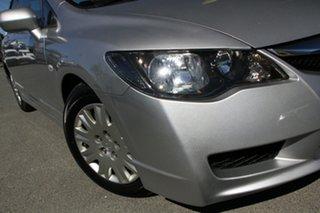 2010 Honda Civic 8th Gen MY10 VTi Albaster Silver/cloth 5 Speed Automatic Sedan.
