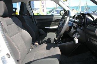 2017 Suzuki Swift AZ GL Navigator Snow White Pearl 1 Speed Constant Variable Hatchback