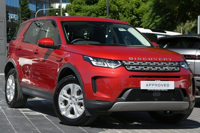 Used Land Rover Discovery Sport L550 20.5MY S Newstead, 2020 Land Rover Discovery Sport L550 20.5MY S Red 9 Speed Sports Automatic Wagon