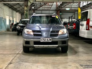 2004 Mitsubishi Outlander ZE LS Grey 4 Speed Sports Automatic Wagon.