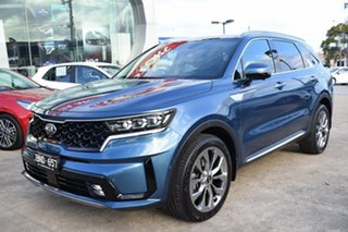 2020 Kia Sorento MQ4 MY21 GT-Line AWD Mineral Blue 8 Speed Sports Automatic Dual Clutch Wagon.