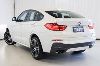 2016 BMW X4 F26 xDrive35i Coupe Steptronic White 8 Speed Automatic Wagon.