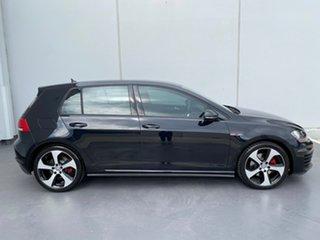 2015 Volkswagen Golf VII MY16 GTI DSG Black 6 Speed Sports Automatic Dual Clutch Hatchback.