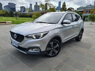 2019 MG ZS AZS1 MY19 Excite 2WD Silver 4 Speed Automatic Wagon.