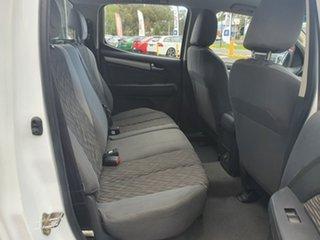2013 Holden Colorado RG MY13 LX Crew Cab 4x2 White 5 Speed Manual Utility