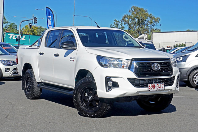 Used Toyota Hilux GUN126R SR Double Cab Ebbw Vale, 2019 Toyota Hilux GUN126R SR Double Cab 6 Speed Sports Automatic Utility
