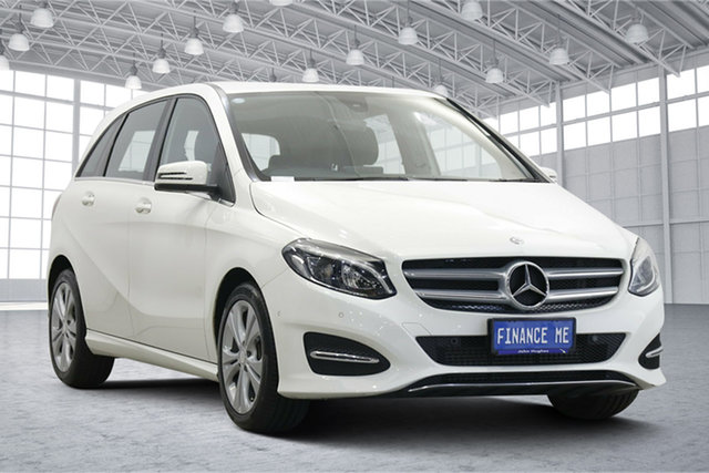 Used Mercedes-Benz B-Class W246 808MY B200 DCT Victoria Park, 2017 Mercedes-Benz B-Class W246 808MY B200 DCT White 7 Speed Sports Automatic Dual Clutch Hatchback