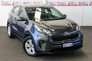 2017 Kia Sportage QL MY17 SI (FWD) Blue 6 Speed Automatic Wagon.